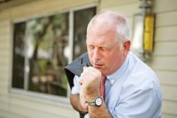 Одышка- один из симптомов ревматизма